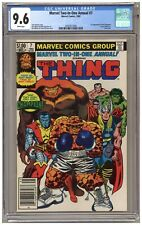 Marvel Two-in-One Annual #7 (CGC 9.6) 1st app. Champion; Newsstand (j#6373)