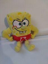 Ty Spongebob MUSCLEBOB BUFFPANTS beanie baby plush  Nickelodeon toy
