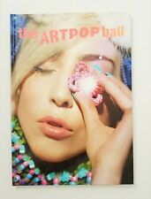 Lady Gaga THE ART POP BALL  VIP Hardcover Tour Book 2014