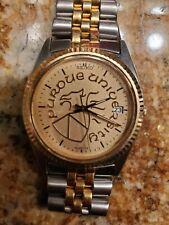 Vintage Seiko Two Tone Men's Quartz Watch - 7N43 8119 - Purdue Griffin Crest