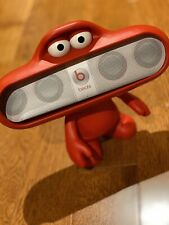 Dr Dre Beats Pill Red Dude Character Stand Speaker Holder No box MINT Condition
