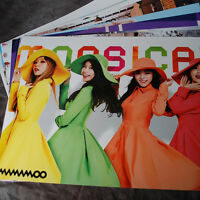 K-POP MAMAMOO SOLAR WHEEIN 12Posters (12PCS) Collection Bromide + PHOTO Sticker