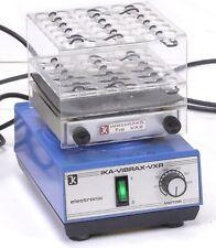 IKA-Vibrax-VXR S1 Shaker / Stirrer w/ Vx2 Test Tube Attachment 36 Holes- 16 mm
