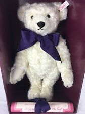 """""""Charlotte"""" - Steiff Ltd Edition Teddy Bear -1994 Hamleys Exclusive - EAN:652813"""