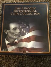 Bicentennial Lincoln Coin Collection Bradford Exchange [15 Panels]