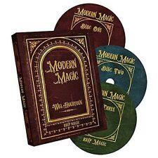 Modern Magic (3 DVD set) by Will Houston and RSVP Magic - DVD - Magic Tricks