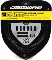 Jagwire Universal Sport Bike Brake Cable & Housing Kit fits Shimano SRAM - Black