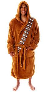 Star Wars Chewbacca Robe Costume Fleece Plush Chewie Chewbacca Bathrobe