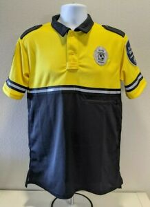Allied Universal Security Services Uniform Shirt Bright Yellow Small