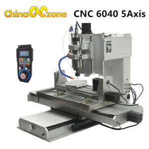 HY-6040 5Axis 2200W CNC USB Aluninum Router Machine Drilling Milling Engraver US