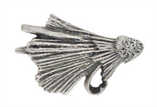 Fishing Fly Angling Pewter Pin Badge
