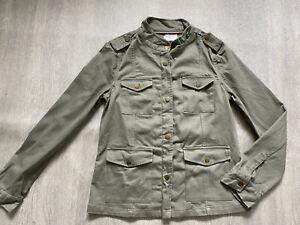 BODEN  khaki melanie jacket size 8   NEW.  WE538  sample