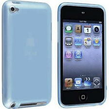 For Apple iPod Touch 4 HARD Protector Case Snap On Cover Sky Blue