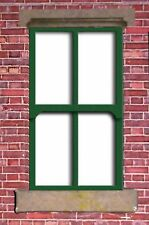 LC14 - Laser cut Large Sash Windows O scale pk of 6 Smart Models