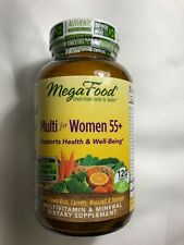 MegaFood Multi Vitamin for Women 55+, 120 tablets