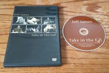 Jeff James: Take In The Fall (DVD, 2007) live music concert Johnny Golde Records