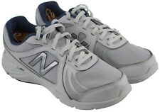 New Balance Womens Ladies 496v3 White Blue Lace Up Comfort Shoes Sneakers Sz 10