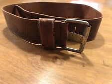 Ripcurl embossed leather belt used