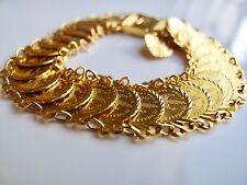 MÜNZARMBAND aus 916 GOLD 22 KARAT mit Sicherheitskette Wert 4180,-€*