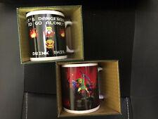 2x Official Legend Of Zelda Coffee Mugs NEW