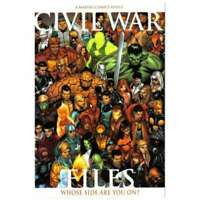 Civil War (2006 series) Files #1 in Near Mint condition. Marvel comics [*da]
