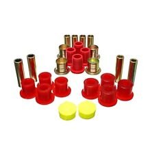 Energy Suspension 5.3139R Control Arm Bushing Set Red - Front