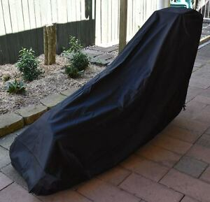 Lawn Mower Cover Heavy Duty Black Type B 600D Polyester 1 Yr Waranty