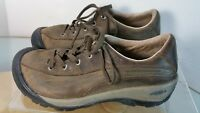 KEEN Presidio Women's Size 7.5 M Lace Up Brown Nubuck Leather Shoes