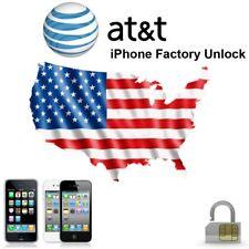 PREMIUM APPLE IPHONE X 8 7+ 7 6S+ 6S 6+ 6 5S 5C 5 4S 4 AT&T UNLOCK SERVICE