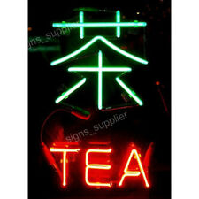 New Chinese GongFu Tea Bar Pub Wall Decor Acrylic Neon Light Sign 17""
