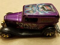 Hot Wheels 1932 Ford Delivery Vicky Purple FREE SHIPPING