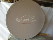 """Vintage Hat Box Round Marshall Field French Room 14"""" (#2)"""