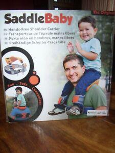 Saddle Baby, Kleinkindtrage für den Nacken Jako-o! Sicher und wie neu!