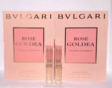 2 x Bvlgari Rose Goldea eau de parfum sample perfume vial 1.5 ml / .05 oz Each