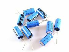 Philips 035QS 63v 220uf Radial Electrolytic Capacitor 12.5x25mm Qty 10 OL0538b