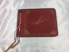 1935-36 AUTOGRAPH/MEMORY BOOK GIRLS SCOUTS CAMP MAHA, NEBRASKA