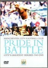 MANCHESTER CITY PRIDE IN BATTLE DVD