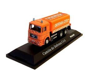 MAN F2000 DEFENSA CIVIL in Orange - 1:72 Die-cast & Plastic Truck Model - Ex Mag