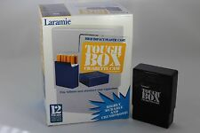 Laramie Tough Box Crush-Proof Plastic 2 Piece Black Cigarette Case King & 100s
