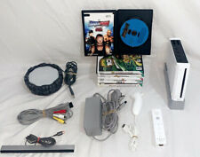 Nintendo Wii Console White - w/ Wii Motion Plus Controller, Portal & 6 Games