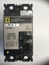 Square D Fal26020 20 Amp 600V Series 2 2 Pole Circuit Breaker