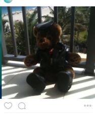 Harley Davidson Bear Stuffed Animal With Jacket Boots Hat