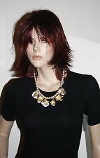 Collana girocollo color oro e bronzo bellissima bigiotteria