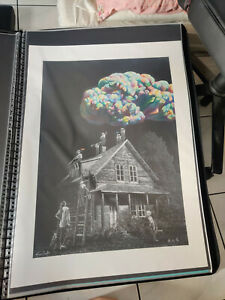 Chengxiang Shang X Roamcouch Moonchild Signed Art Print Canvas #/85