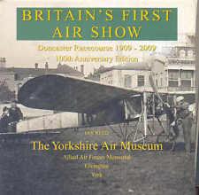 El primer Air Show de Gran Bretaña, Doncaster hipódromo 1909-2009 por Ian Reed aviones