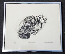 Rare LE 18/20 engraving 'Glider Possum' by famous Australian artist Jenny Pollak