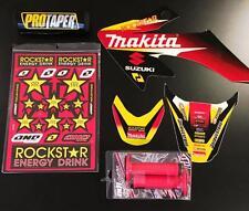 Honda Crf 50 04-16 PitBike Graphics Kit Makita Free Troy Lee Grips Pro Taper Pad