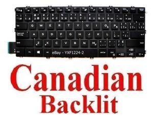 Keyboard for Dell Latitude 3400 - CA Canadian Backlit