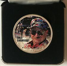 2001 DALE EARNHARDT - 1 Ounce American Silver Eagle - Uncirculated     #1330