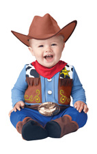 Kids Baby Toddler Wee Wrangler Cowboy Cowgirl Fancy Dress Costume